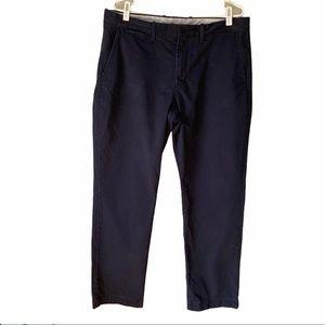 J Crew Men's Cotton Khaki Blue Pants, 36x30
